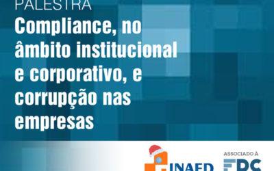 COMPLIANCE, no âmbito institucional e corporativo, e corrupção nas empresas