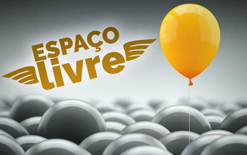 Aqui o espaço é livre