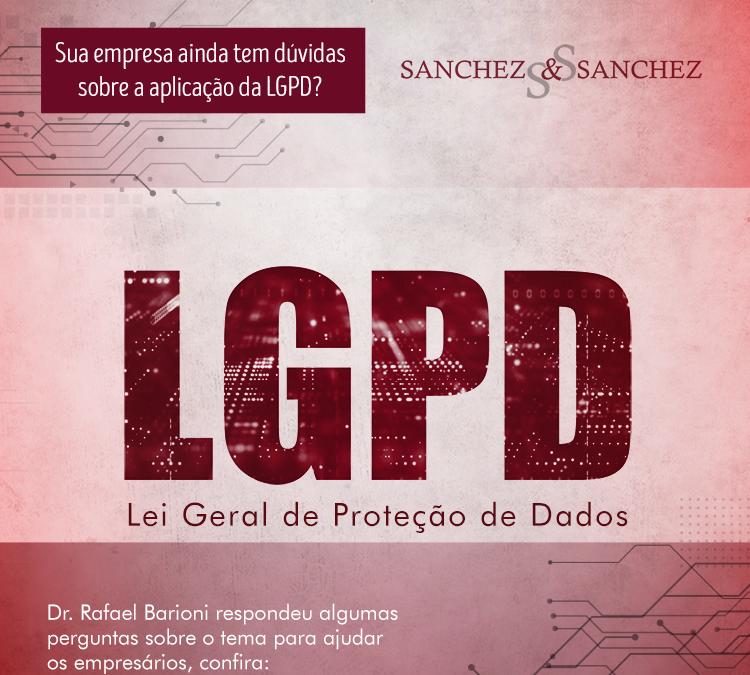 Sua empresa ainda tem dúvidas sobre a aplicação da LGPD?