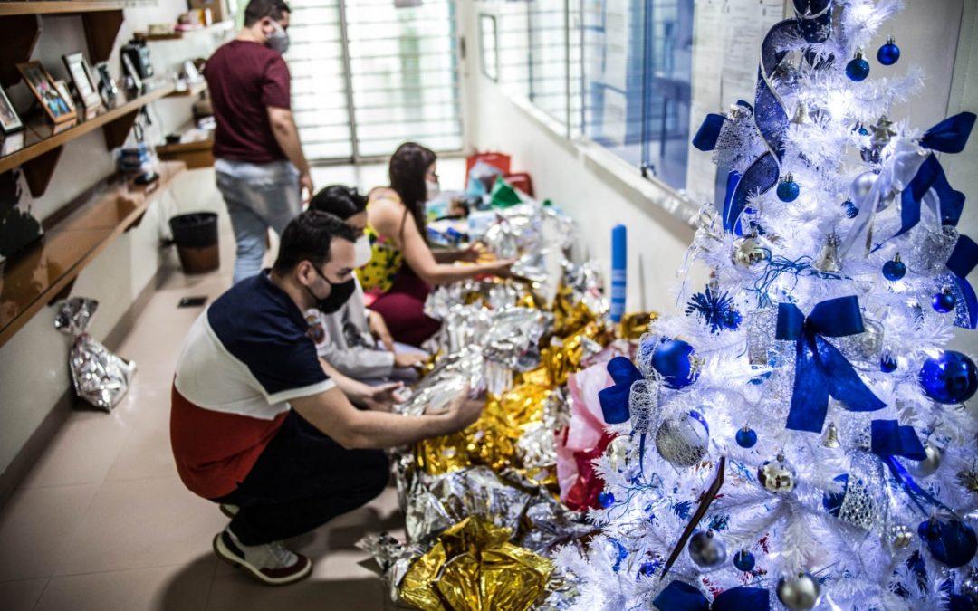 A campanha Natal Solidário Sanchez & Sanchez em prol do Cantinho do Céu, Hospital de Retaguarda, foi um sucesso de arrecadação