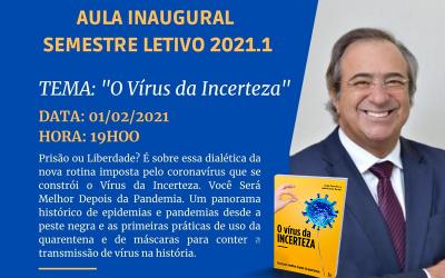 Dr. Jorge Sanchez ministrará reunião online para inaugurar o ano letivo da Faculdade Santo Agostinho
