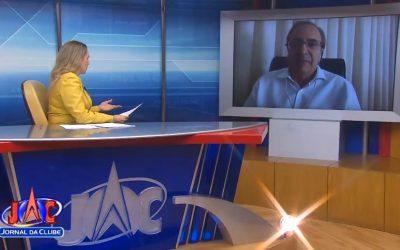Dr. Jorge Sanchez é entrevistado pelo Jornal da Clube, na TV CLUBE BAND